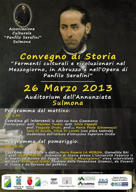 Bozzetto locandina -Convegno di Storia 2013-