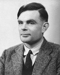 Alan Mathison Turing (Londra, 23 giugno 1912 – Wilmslow, 7 giugno 1954)