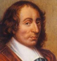 Blaise Pascal (Clermont-Ferrand, 19 giugno 1623 – Parigi, 19 agosto 1662)